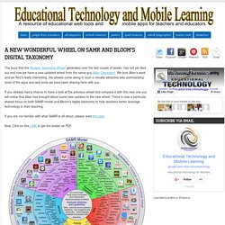 A New Wonderful Wheel on SAMR and Bloom's Digital Taxonomy