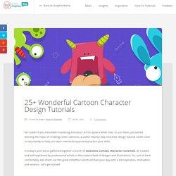 25+ Wonderful Cartoon Character Design Tutorials