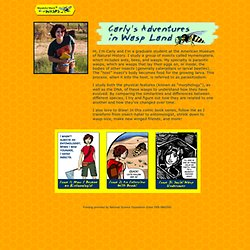 Wonderful World of Wasps - Carly's Adventures in Wasp Land (Comic)