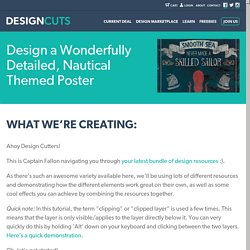 Design a Wonderfully Detailed, Nautical Themed Poster « Design Cuts