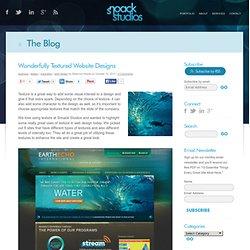 Wonderfully Textured Website Designs