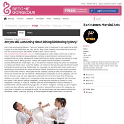 Are you still wondering about joining Kickboxing Sydney? - Bankstown Martial Arts - Blog.