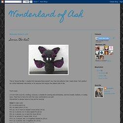 Wonderland of Ash: Sonar the Bat