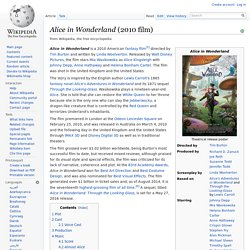 Alice in Wonderland (2010 film) - Wikipedia, the free encycloped