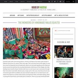 The Wonders of Handmade Rallis (Quilts)