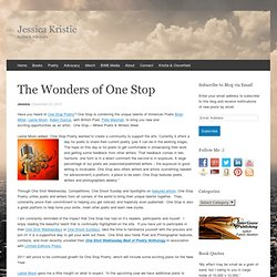 The Wonders of One Stop « Jessica Kristie