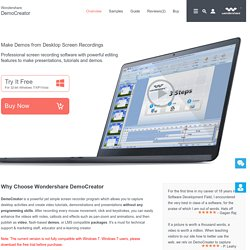 Wondershare DemoCreator: Best Screen Recorder