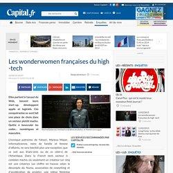 Les wonderwomen françaises du high -tech