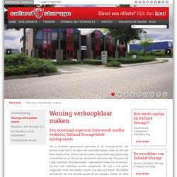 Woning verkoopklaar maken-Salland Storage BV
