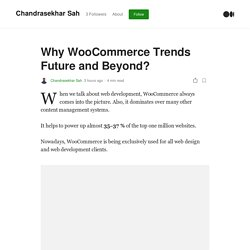 WooCommerce Development To Avoid Failure In Business