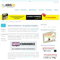 WooCommerce : le guide complet