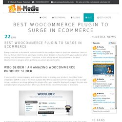 Wordpress and WooCommerce Plugin Development Company Best WooCommerce plugin to surge in eCommerce - Wordpress and WooCommerce Plugin Development Company