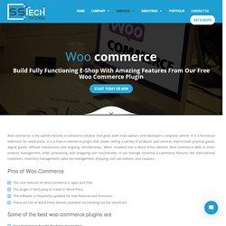 Woocommerce Development Company – Develop Your eCommerce Store