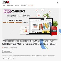 Woocommerce integrated MLM Software - Start Ecommerce Business now