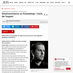 WooCommerce vs Prestashop : l'avis de l'expert : WordPress WooCommerce vs PrestaShop