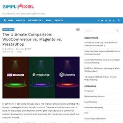 Compare Megento, WooCommerce and PrestaShop for E-commerce Website