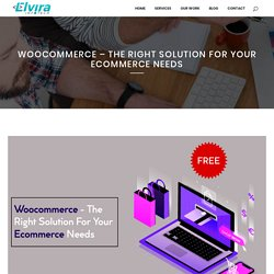 Woocommerce - The Right Solution For Your Ecommerce Needs