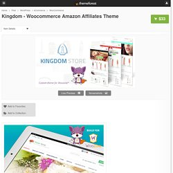 Kingdom - Woocommerce Amazon Affiliates Theme by AA-Team