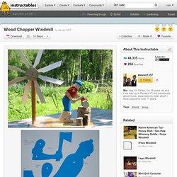 Wood Chopper Windmill