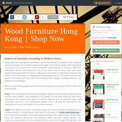 Wood Furniture Hong Kong