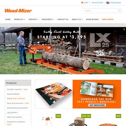 Wood-Mizer Portable Sawmills > Home