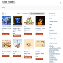 wood-toolbox – templates for laser and CNC