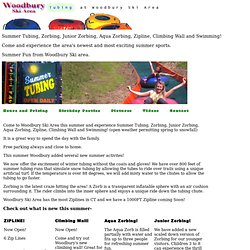 Woodbury Ski Area :: SummerTubing and Zorbing