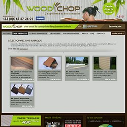 terrasse composite woodchop