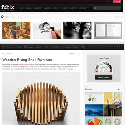 Wooden Rising Shell Furniture