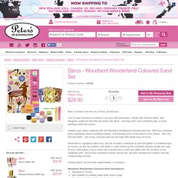 Djeco - Woodland Wonderland Coloured Sand Set