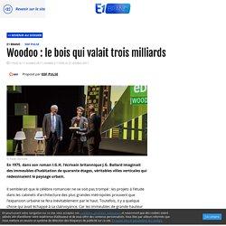 Prix EDF Pulse 2017: Woodoo : le bois qui valait trois milliards - 11/10/17