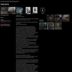 Dre Wapenaar // Canvas-, Steel-, and Woodprojects // Treetents