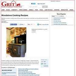 Woodstove Cooking Recipes