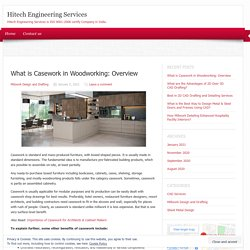 What is Casework in Woodworking: Overview