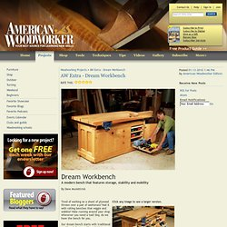 AW Extra - Dream Workbench - Woodworking Projects