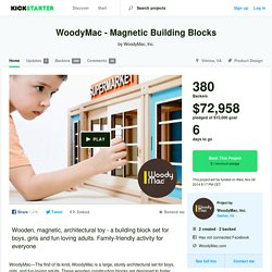 WoodyMac - Magnetic Building Blocks by WoodyMac, Inc.
