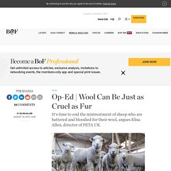 Wool Can Be Just as Cruel as Fur