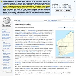 Wooleen Station