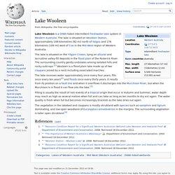 Lake Wooleen