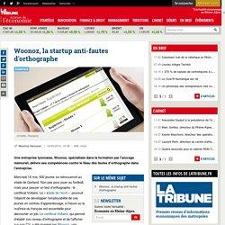 Woonoz, la startup anti-fautes d'orthographe