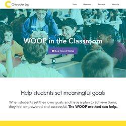 WOOP Goal-setting