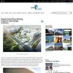 Magok Central Plaza Winning Proposal / Wooridongin Architects