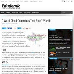 9 Word Cloud Generators That Aren't Wordle