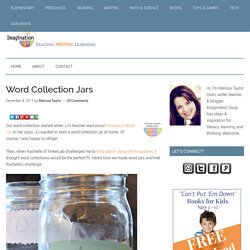Word Collection Jars