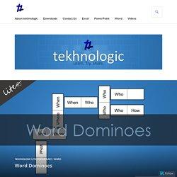 Word Dominoes – tekhnologic