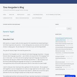 Tina Hargaden's Blog