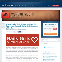 Word of Mouth Blog