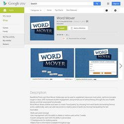 Word Mover - Aplicaciones de Android en Google Play