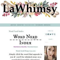 Word Nerd Index – Lawhimsy