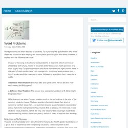 Marilyn Burns Math Blog